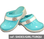 ref : SHOES/GIRL/TURQUOISE
